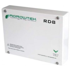 Agrowtek  RD8 Eight Dry-Contact Relays 24VDC/120VAC/5A