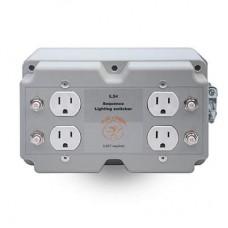 4 Lights/Load Switcher, 240V In, 120V Out, 120V Trigger
