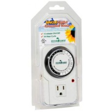 15A, 24 Hour, Grounded Timer, 1725w