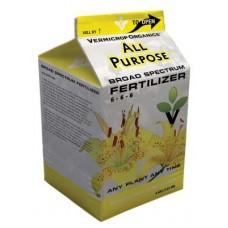 Vermicrop All Purpose 6-6-6 Broad Spectrum Fertilizer 1Gal