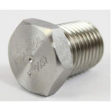 1/4in MNPT 304 Stainless Stee Hex Plug