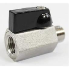1/4in MNPT X 1/4in FNPT Miniature Ball Valve