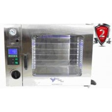 1.9CF LCD Stainless Steel Oven - LED's AND 5 Shelves Standard and up to 11 Shelves MAX