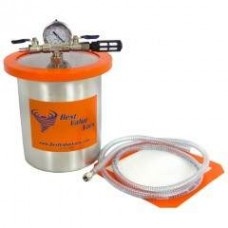 1 Gallon Tall Stainless Steel Vacuum Chamber