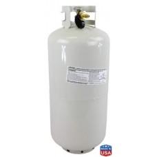 100% USA Made High Purity N-Butane 100# - Refillable Tank