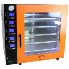 7.5CF Vacuum Degassing Oven - Stainless Steel Interior - 5 Shelf Heating