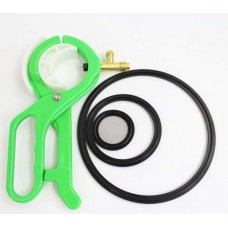 1lb Dewax Passive Closed Loop Extractor w/Solvent Tank and Hose